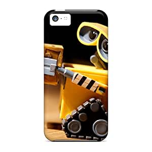GNFQpSC2073SYxjm Case Cover Wall E Toy Robot Hd Iphone 5c Protective Case