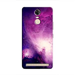Cover it up Purple Nebula Hard Case for Lenovo K5 Note - Multi Color