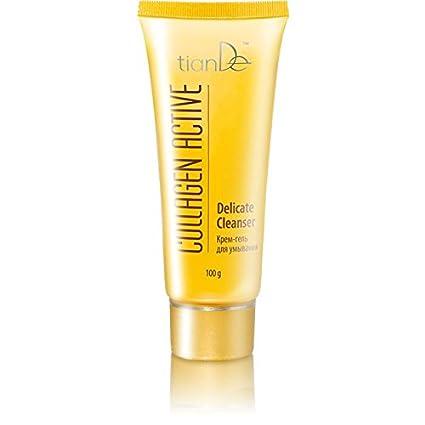 Crema-Gel colágeno TIANDE Limpiadora para Cara, Suave 100g