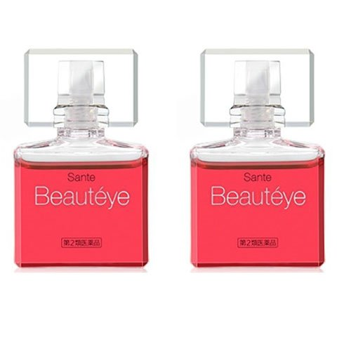 2 of Santen Beautyeye Eyedrops 12ml [Imported by ☆SAIKO JAPAN☆ W/ Tracking #]