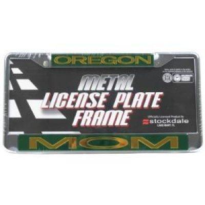 Stockdale Oregon Ducks Metal mom Inlaid Acrylic License Plate Frame