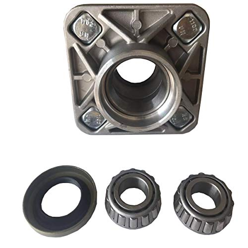 Dr.Acces Golf Cart Aluminum Front Wheel Hub and Bearing Club Car DS 1974-2003 OEM#1011892 (One Piece) (Cart Club Flares Car Wheel Golf)
