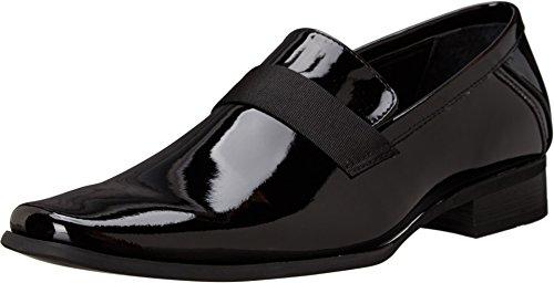 Calvin Klein Men's Bernard Loafer, Black Patent, 10 M US - Calvin Klein Tuxedo