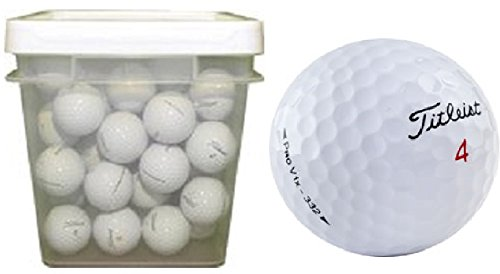 Titleist Pro V1X Recycled Golf Balls (100-Ball Bucket)