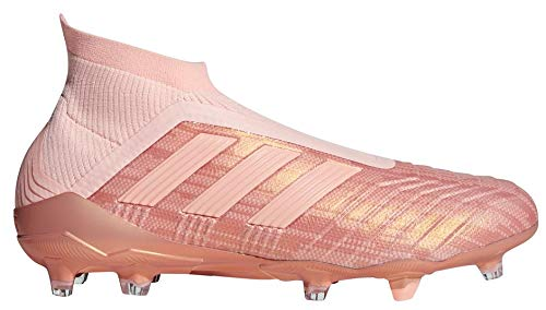 Image of adidas Men's Predator 18+ FG Soccer Cleat (Sz. 9.5) Trace Pink