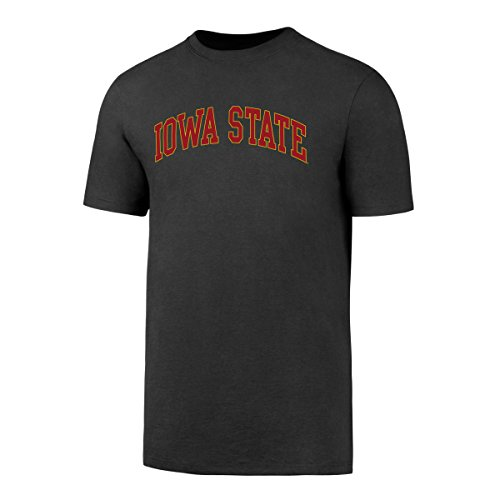 (NCAA Iowa State Cyclones Men's OTS Rival Tee, Charcoal, XX-Large)