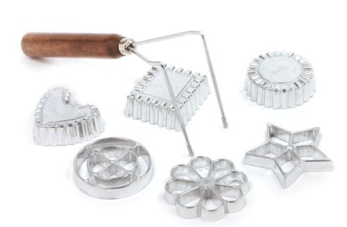 Norpro Rosette/Timbale, 7 Piece Set