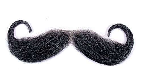 Loftus International Handle Bar Moustache, Gray]()