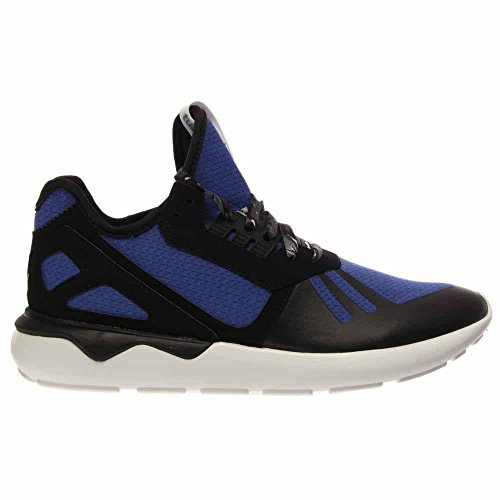 Adidas Mens Tubular Runner Original Scarpe Da Corsa Royal Blue / Nero