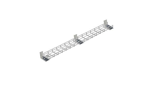 3000 mm menores de organizador de cables para escritorio bandeja x 3 Meter: Amazon.es: Bricolaje y herramientas