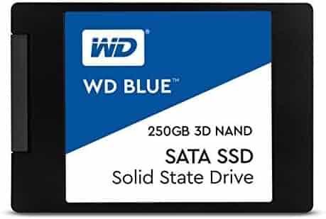 WD Blue 3D NAND 250GB PC SSD - SATA III 6 Gb/s 2.5