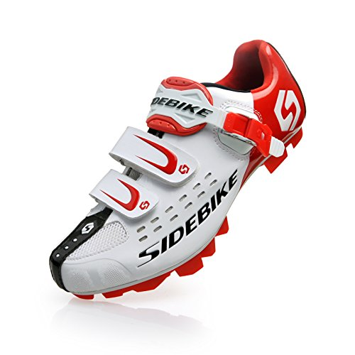 Ft26 Bike Cycling for SD002 Men's White Road US9 All 5cm MTN Around Mountain EU42 Smartodoors Red Shoes Sidebike B8Yw4qSa