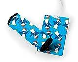 Little Funny Penguins Luggage Tag & Luggage Finder Wrap Set