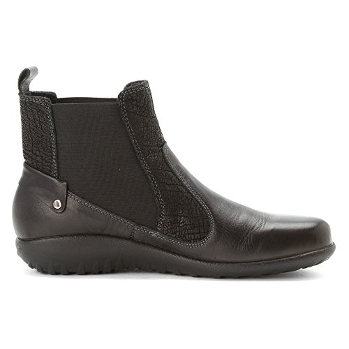 Black Naot Konini Raven Womens Boots Leather IIaqr