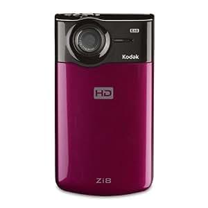 Kodak Zi8 Pocket Video Camera (Raspberry) (Discontinued by Manufacturer)