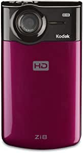 Kodak Zi8 Pocket Video Camera (Raspberry) (Discontinued by Manufacturer)