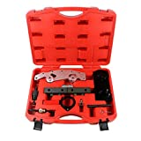 Mrcartool Camshaft Alignment Engine Timing Locking Tool Master Set Double VANOS Fit for BMW M52, M52TU, M54, M56