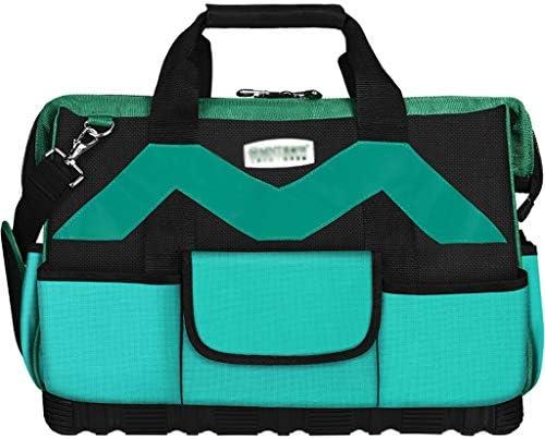 ハードウェアキット多機能メンテナンス大厚耐摩耗キャンバスポータブルストレージバッグ (Size : M)
