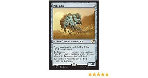 4x PENTAVUS Commander 2014 MTG Artifact Creature — Construct Rare