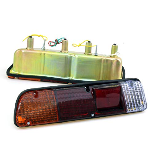Rear Bumper Tail Light Lamp Pair Fit for 1972-1979 Datsun Nissan Pickup Truck 620 Hardbody King Cab Extended Cab UTE New