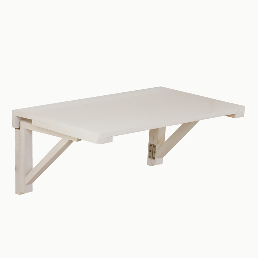 ZJM パインウッド折り畳みテーブルダイニングテーブル壁掛けテーブルドロップリーフテーブル折りたたみコンピュータデスク (サイズ さいず : 70*40cm) B07CWRGK79 70*40cm 70*40cm