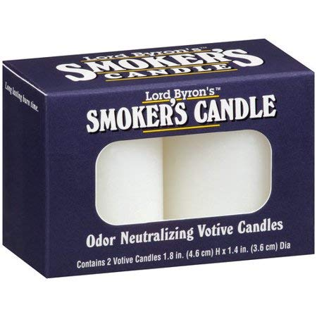 - Lord Byron Smoker's Odor Neutralizing Votive Candles