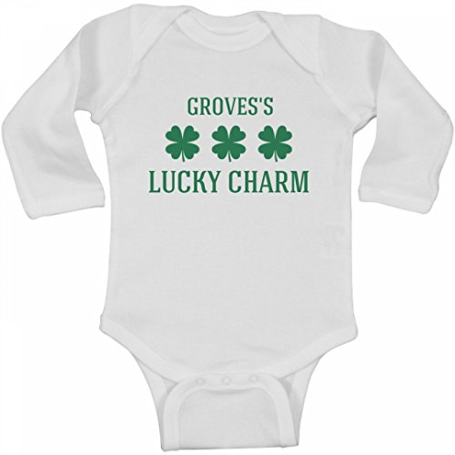 Grovess Lucky Charm  Infant Long Sleeve Bodysuit