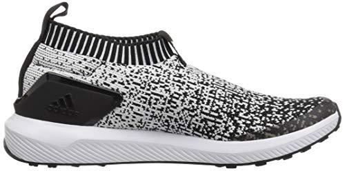 negro Adidas Rapidarun Niños Negro Unisex blanco Laceless 0WWYqa