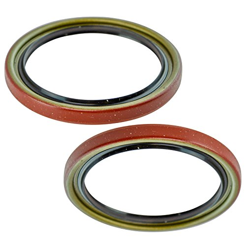 - Front Driver & Passenger Side Wheel Seal Pair for Chevy Buick GMC
