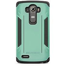 LG G4 Case, BUDDIBOX [Corner Series] Slim Fit Dual Layer Soft Cushion Drop Protection Heavy Duty Case for LG G4, (Green)