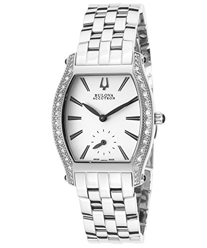 Bulova Diamond Accent Watch (Bulova Accu Swiss Women's 63R005XG Quartz Diamond Accents Bracelet Watch (Certified Refurbished))