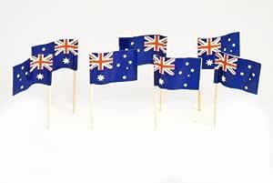 Australia | Australian Flag Toothpicks (100) by Flags! Georgia