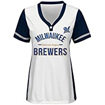 MLB womens VF Licensed Sports Group Women Team Name Rugged Competitor Mlb Pull Over Color Block Jersey