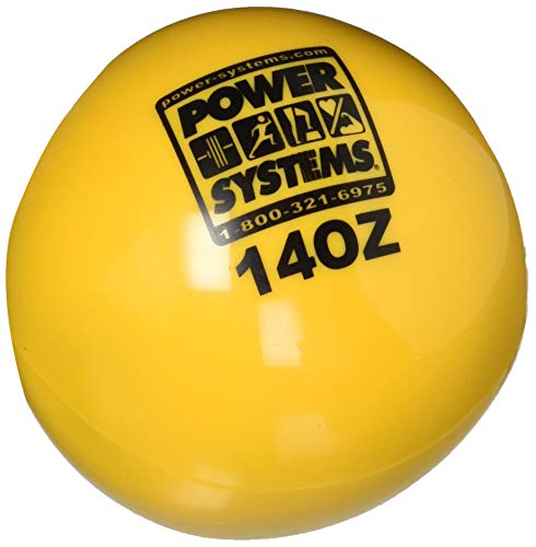(Power Systems Power Throw-Ball Weighted Softball, 14 oz.)