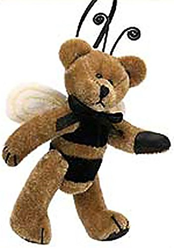 Boyds Plush TF Wuzzles Buzzie Wuzzie Bumble Bee Jointed Teddy Bear Stuffed Animal