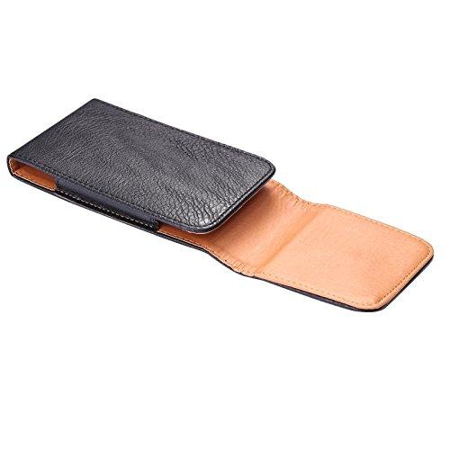 Wkae Case Cover Litchi Textur Vertical Stil Gürteltasche für iPhone 6S Plus / iPhone 6 Plus & 6S Plus / Samsung Galaxy Note 5 / Note 4 / Note III / Note II / S6 Edge-Plus / A8