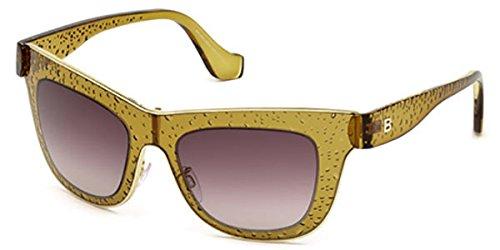 Sunglasses Balenciaga BA 0055 48Z shiny dark brown / gradient
