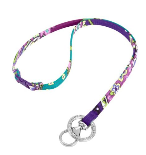 Vera Bradley Breakaway Lanyard in Heather