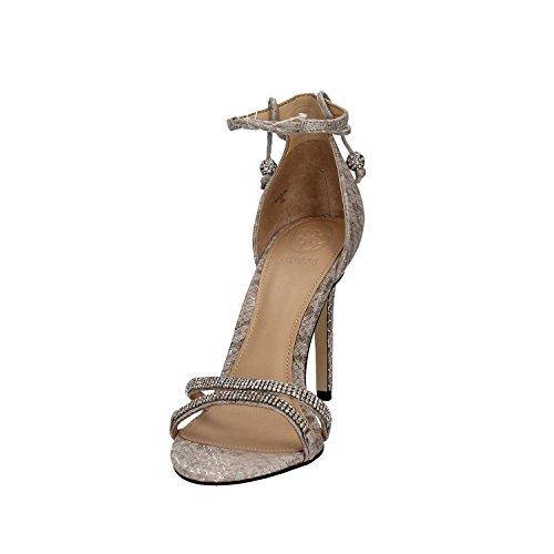 mujer vestir Sandalias para de piel Guess de xEY7qv7UP