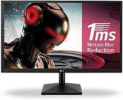 """LG 24MK400H-B 23.8"""" Full HD LED Plana Negro pantalla para PC - Monitor (60,5 cm (23.8""""), 1920 x 1080 Pixeles, Full HD, LED, 2 ms, Negro)"""