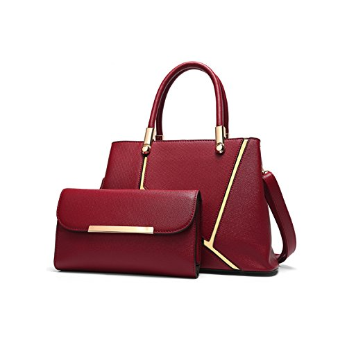 Womens top handle handbags purses sets clearance sale for your appointment by Depend on mood