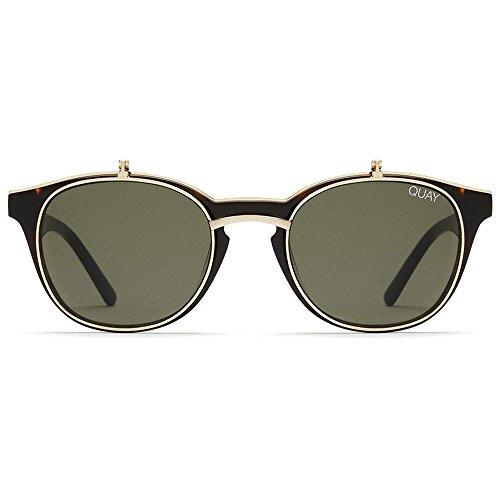 Quay Penny Royal Sunglasses | Oversized Aviator Frames | UV ()