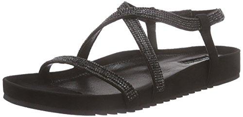 Belmondo 703368 01 - Sandalias Mujer Negro - Schwarz (camoscio nero)
