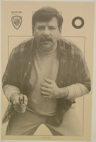 American (20x) IALEFI-QR NRA Official Training Target Black & White Photo Suspect Official Training Shooting Target 23