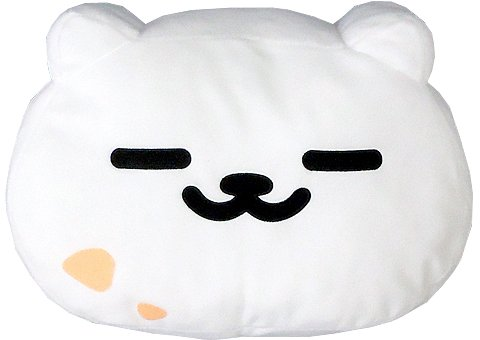 Banpresto Neko Atsume: Kitty Collector: Tubbs Ichiban Kuji -Madoromi Biyori- Face Type Cushion by Banpresto