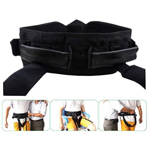 GFYWZ Transfer Belt with Handles, Medical Nursing Safety Gait Belt for Ambulation, Elderly Transfer, Occupational & Physical,M ()
