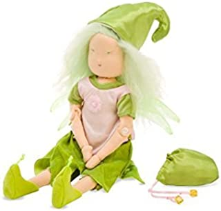product image for Magic Cabin Spring Fairy, ''Faye Fiddlefern'' with Accessories Natural Materials