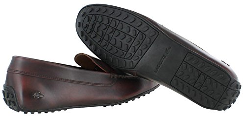 f94e31f2a Lacoste Men s Bonand Slip-On Loafers 7-29SRM2100 Dark Burgundy US 9 ...