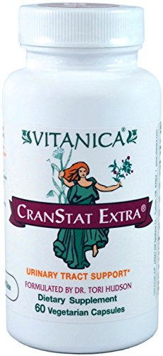 Vitanica – CranStat Extra – Urinary Tract Support – 60 Vegetarian Capsules Review