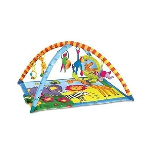 Lovely Kids NEW Tiny Love Super Deluxe Lights Music Gymini Activity Gym Playmat Baby Toy